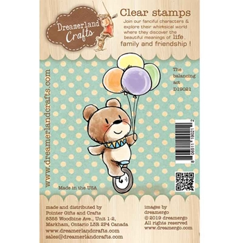 Dreamerland Crafts THE BALANCING ACT Clear Stamp Set d19021