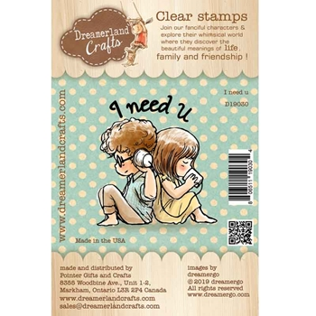 Dreamerland Crafts I NEED U Clear Stamp Set d19030