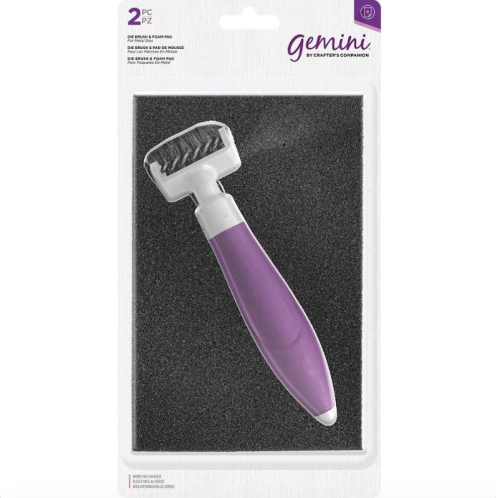 Crafter's Companion DIE BRUSH TOOL AND FOAM PAD gemdietool zoom image