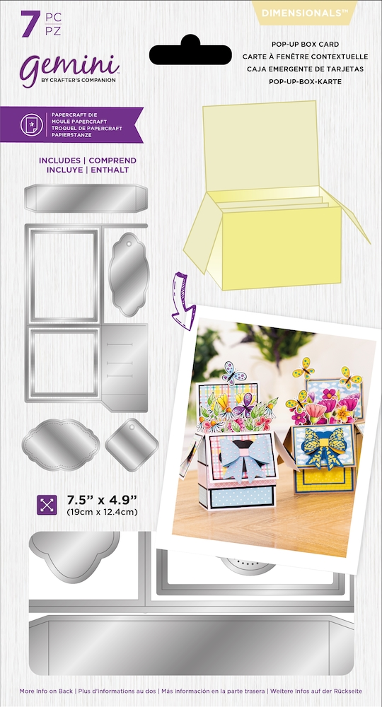 Gemini POP UP BOX CARD Die Set gemmddimpbc zoom image