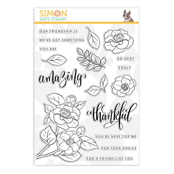 Gina K Designs Exclusive Clear Stamps AMAZING FLOWERS sss202113