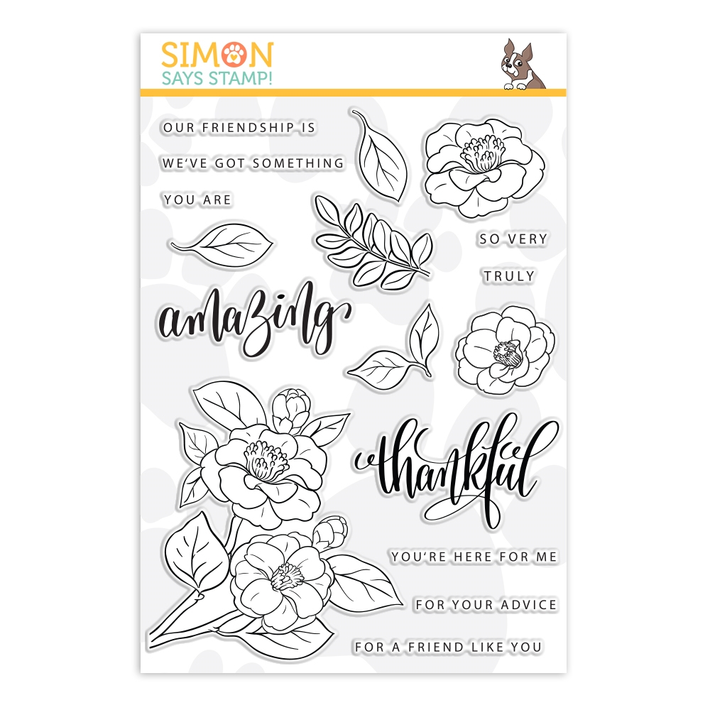 Gina K Designs Exclusive Clear Stamps AMAZING FLOWERS sss202113  zoom image