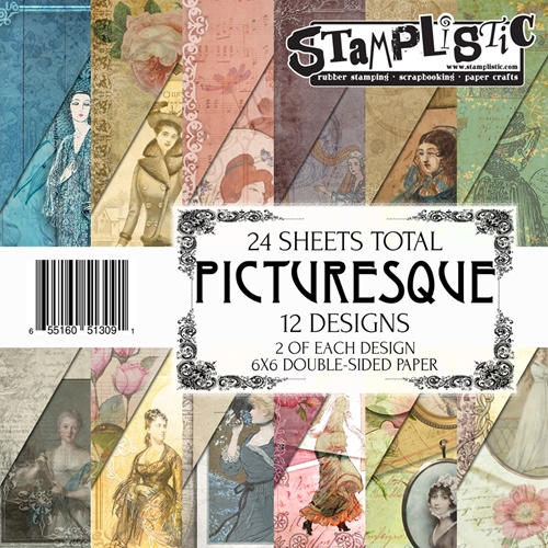Stamplistic PICTURESQUE 6x6 Paper 13091 Preview Image