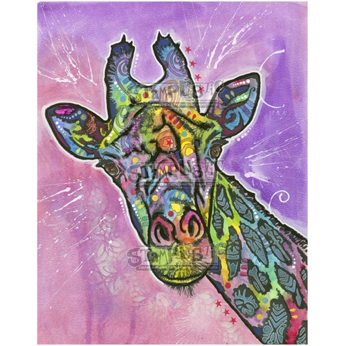 Stamplistic Cling Stamp GIRAFFE Dean Russo l200102 Preview Image