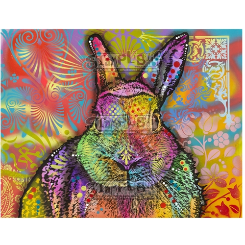 Stamplistic Cling Stamp HARE Dean Russo l200111 Preview Image