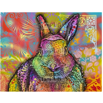 Stamplistic Cling Stamp HARE Dean Russo l200111