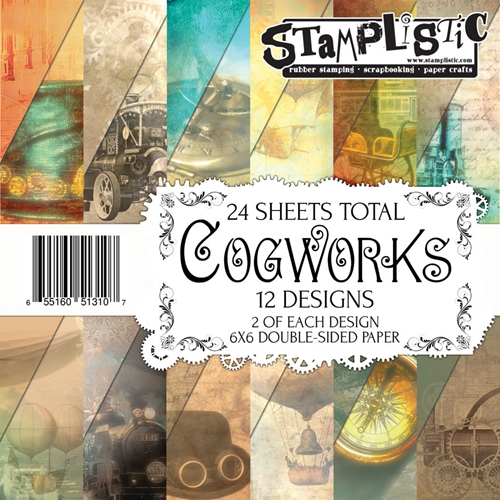 Stamplistic COGWORKS 6x6 Paper 13107 Preview Image