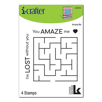 i-Crafter AMAZE ME Clear Stamps 222032*