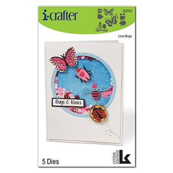 i-Crafter LOVE BUG Dies 222003
