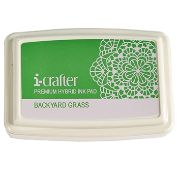 i-Crafter BACKYARD GRASS Hybrid Ink Pad 222083
