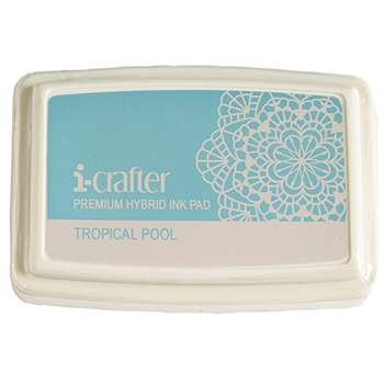 i-Crafter TROPICAL POOL Hybrid Ink Pad 222079