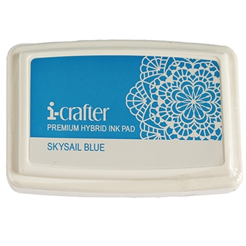 i-Crafter SKYSAIL BLUE Hybrid Ink Pad 222078*
