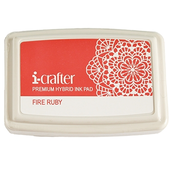i-Crafter FIRE RUBY Hybrid Ink Pad 222075