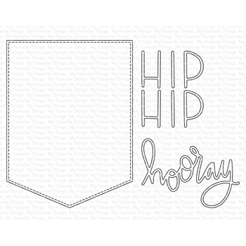 My Favorite Things HIP HIP HOORAY Dies Die-Namics mft1712