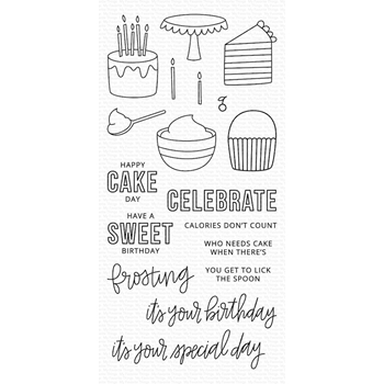 My Favorite Things BIRTHDAYS TAKE THE CAKE Clear Stamps cs464