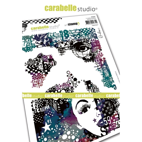 Carabelle Studio SKETCHES Cling Stamps sa50038 Preview Image
