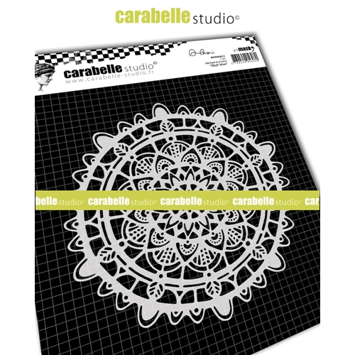 Carabelle Studio DKYIL'KHOR 6x6 Round Mask Stencil maro60013 Preview Image