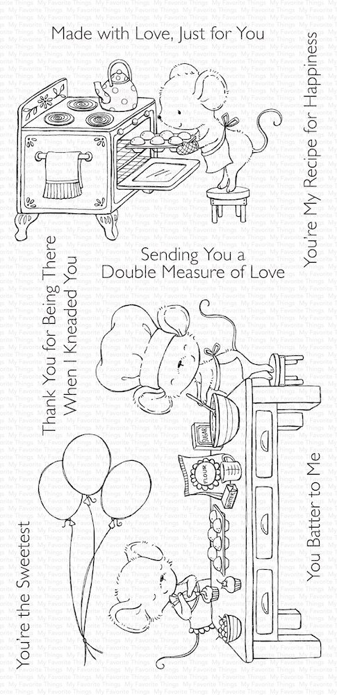 My Favorite Things SWEET SHOP Clear Stamps sy18 zoom image