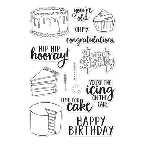 Hero Arts Clear Stamps TIME FOR CAKE CM440 Preview Image