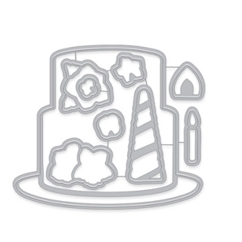 Hero Arts Frame Cuts DECORATE A CAKE Dies DI741