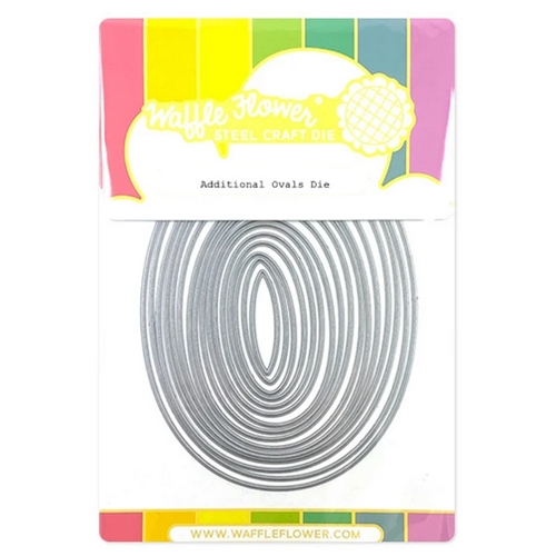 Waffle Flower ADDITIONAL OVAL Dies 310383 Preview Image