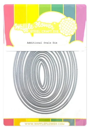 Waffle Flower ADDITIONAL OVAL Dies 310383 zoom image