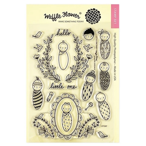 Waffle Flower LITTLE ONE BABY Clear Stamps 271307 Preview Image