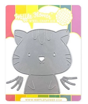 Waffle Flower BE A CAT Dies 310376 Preview Image