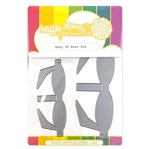 Waffle Flower EASY 3D BOWS Dies 310384 Preview Image