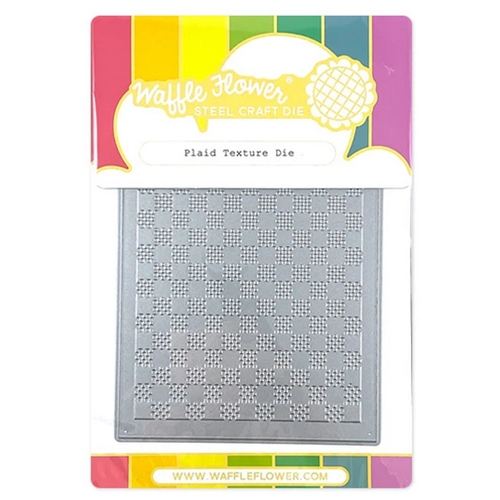Waffle Flower PLAID TEXTURE Die 310375 Preview Image