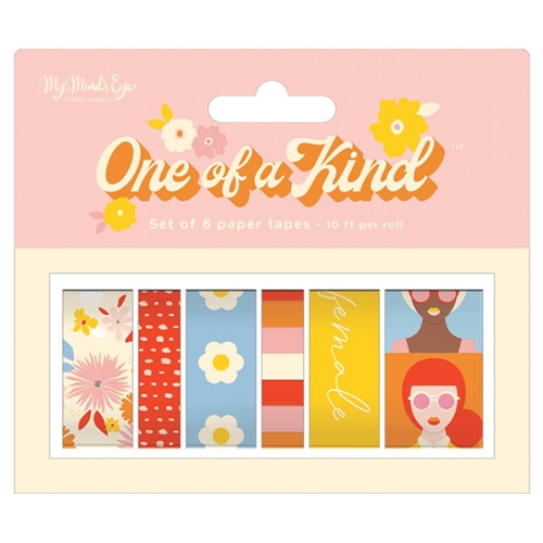 My Mind's Eye ONE OF A KIND Decorative Tape grl119 Preview Image