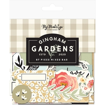 My Mind's Eye GINGHAM GARDENS Mixed Bag gf2116