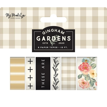 My Mind's Eye GINGHAM GARDENS Decorative Tape gf2119