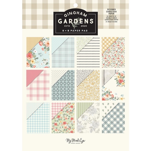 My Mind's Eye GINGHAM GARDENS 6 x 8 Paper Pad gf2124 Preview Image