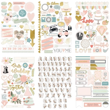 My Mind's Eye BEST DAY Stickers crd103