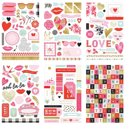 My Mind's Eye WITH LOVE Stickers crd203 Preview Image