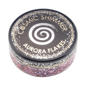 Cosmic Shimmer BLISSFUL BERRY Aurora Flakes csafberry