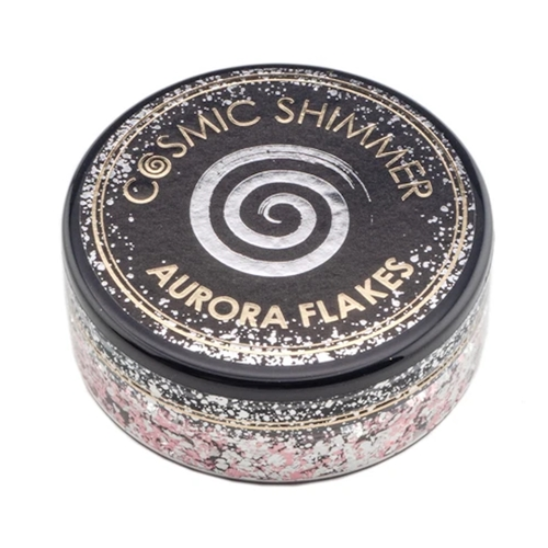 Cosmic Shimmer ICY PINK Aurora Flakes csaficy Preview Image
