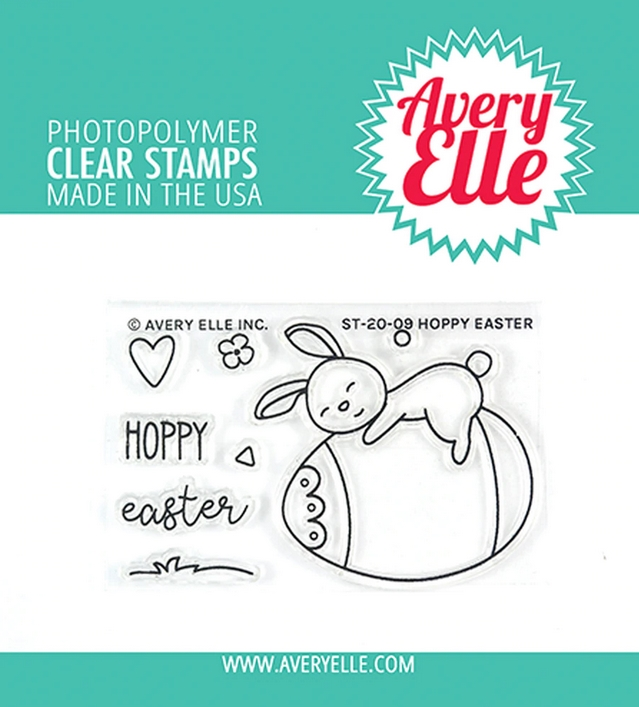 Avery Elle Clear Stamps HOPPY EASTER ST-20-09 zoom image