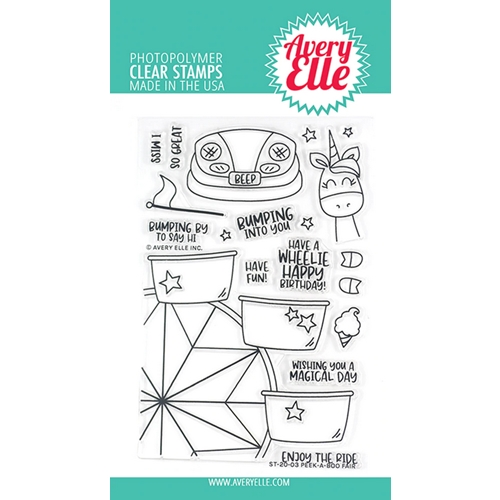 Avery Elle Clear Stamps PEEK A BOO FAIR ST-20-03 Preview Image