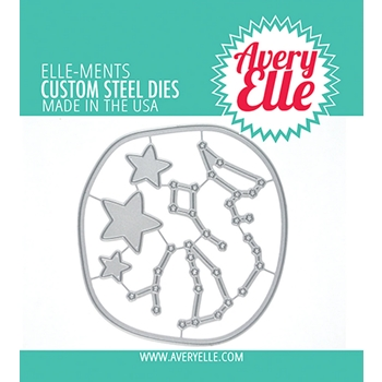 Avery Elle Steel Dies CONSTELLATION SCENE D-09-05