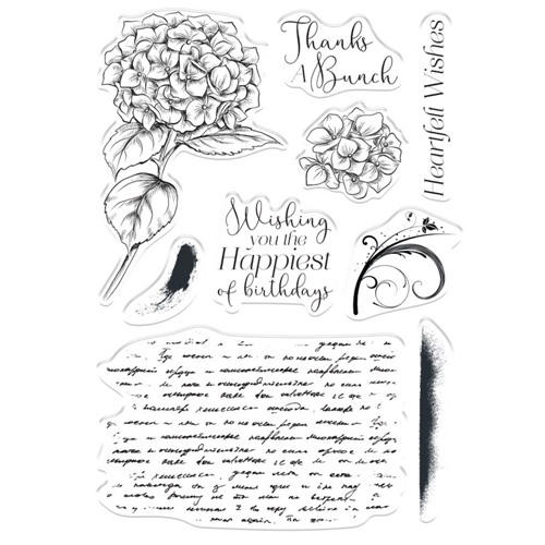Crafter's Companion HEARTFELT WISHES Clear Stamps collstphewi Preview Image