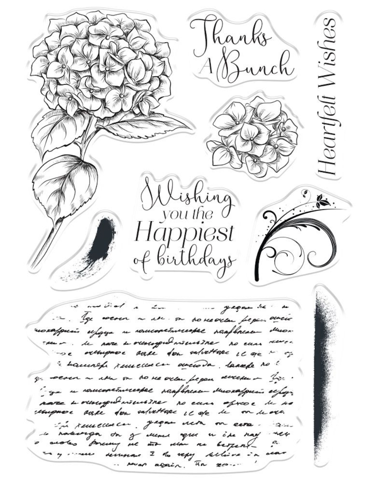 Crafter's Companion HEARTFELT WISHES Clear Stamps collstphewi zoom image