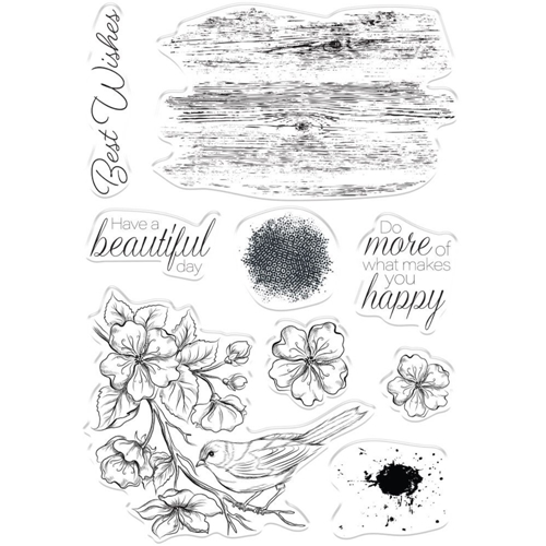 Crafter's Companion FEATHERED FRIEND Clear Stamps collstpfefr* Preview Image