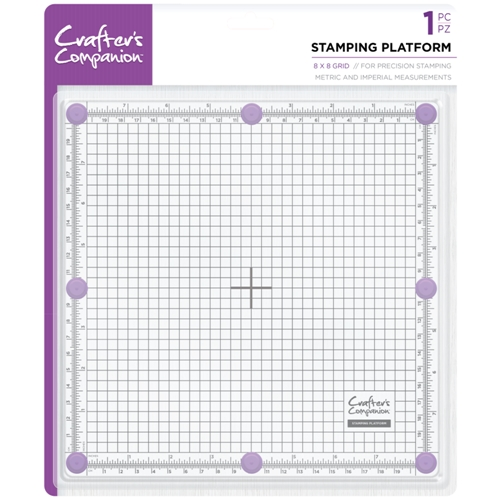 Crafter's Companion 8 x 8 STAMPING PLATFORM cctoolstplat8 Preview Image