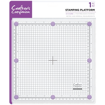 Crafter's Companion 8 x 8 STAMPING PLATFORM cctoolstplat8