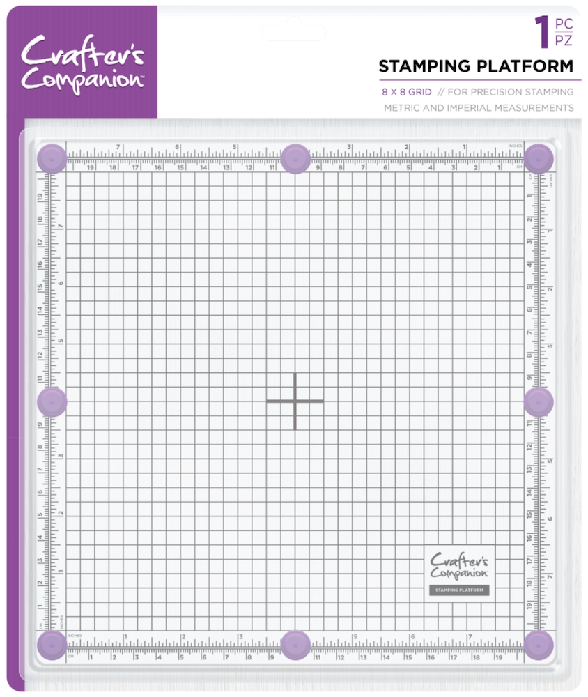 Crafter's Companion 8 x 8 STAMPING PLATFORM cctoolstplat8 zoom image