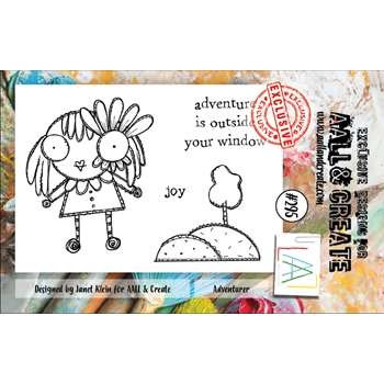 AALL & Create ADVENTURER 295 A7 Clear Stamps aal00295