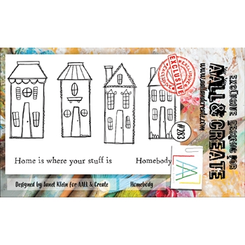 AALL & Create HOMEBODY 283 A6 Clear Stamps aal00283