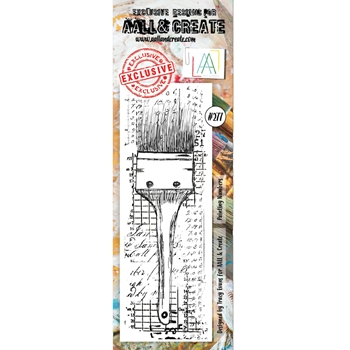 AALL & Create PAINTING NUMBERS BORDER 277 Clear Stamp aal00277